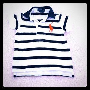 Ralph Lauren polo shirt 9 month
